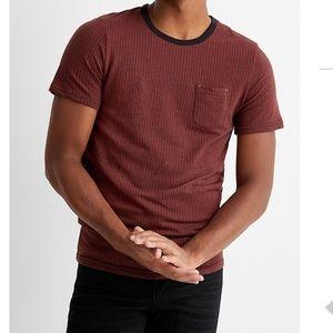 Jack & Jones ruby red brown t-shirt NWT